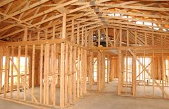 House. New house constuction Stock Photo