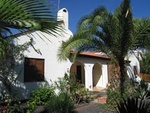 House. Bungalow in spain Stock Photo