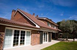 House. Brick house Royalty Free Stock Photos