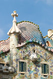 House. Casa Batllo by Antoni Gaudi. Barcelona, Spain stock image