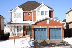 House. A canadian house Royalty Free Stock Images