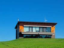 House. On the hill Royalty Free Stock Image