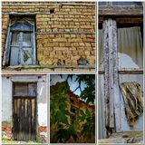 House Abandonment. Old house Abandonment in greece Royalty Free Stock Photos