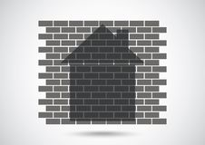 House abstract real estate Royalty Free Stock Image