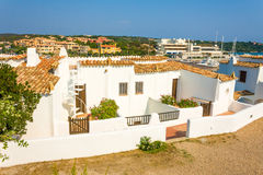 House, accommodation. Mediterranean house, accomodation near Porto Cervo, Sardinia Royalty Free Stock Photos