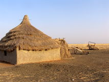 House in Africa Royalty Free Stock Image