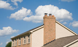 Free House Against A Beautiful Sky Stock Image - 6201671