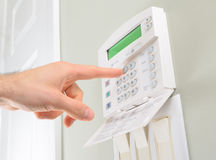 House alarm Stock Photography