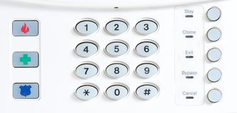 House alarm Stock Photography