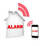 House alarm Stock Photos
