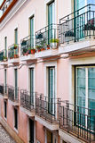 House in Alfama district in Lisbon, Stock Photography