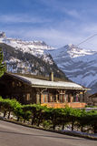 House in Alps Royalty Free Stock Photo