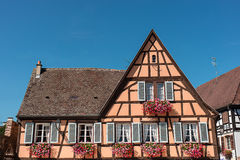 House in Alsace Royalty Free Stock Images