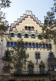 House Amatller (Baker) in Barcelona. Stock Photography