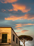 House in Anacapri Royalty Free Stock Image