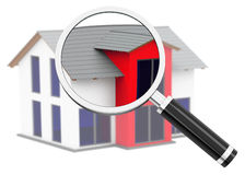 House analysis Royalty Free Stock Image