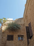 House in ancient Yaffo, Israel Stock Photography