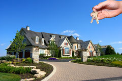 House And Hand Stock Images