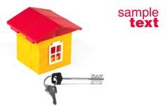 House And Keys Royalty Free Stock Photo