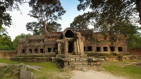 House in Angkor Wat Stock Photography