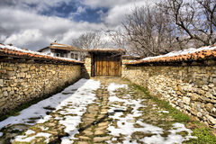 House in Arbanassi, Bulgaria Royalty Free Stock Photos