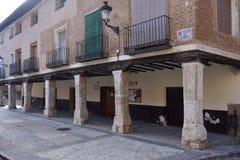 House of Arcades, Square of Spain, Daroca, Zaragoza province,Ara Stock Image