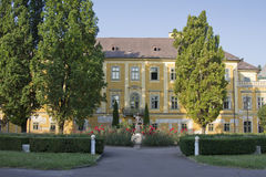 House of the Archbishop of Eger. (Hungary, Europe Stock Images