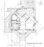 House - architecture plan Royalty Free Stock Photo