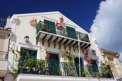 House in Argostoli Royalty Free Stock Images