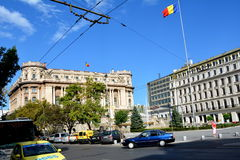 House of the Armee,  Bucharest Stock Photos