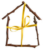 House as a gift Royalty Free Stock Photography