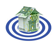 House as a target Royalty Free Stock Images
