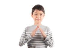 HOUSE ASL Sign language communication Royalty Free Stock Photo