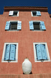 House in Assos village, Kefalonia Stock Photography