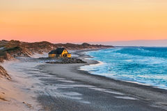Free House At The Beach Near Gammel Skagen Royalty Free Stock Photo - 95273575