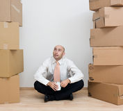 house att flytta sig som är nytt till arkivbild