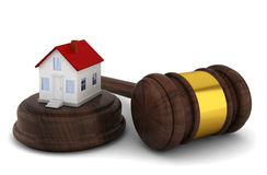 House auction concept Royalty Free Stock Image