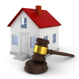 House auction concept Royalty Free Stock Photo