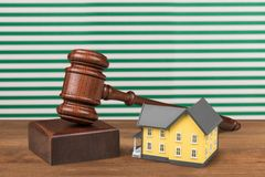 House Auction Royalty Free Stock Photo