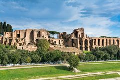 House of Augustus or Domus Augusti Stock Photography