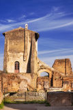 House of Augustus on the Palatine Hill in Rome Stock Photos