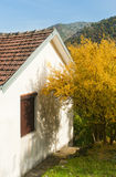 House in autumn Royalty Free Stock Photo