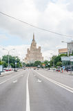 House of Aviators in Moscow Stock Photography