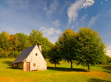 House in Azun Valley royalty free stock photography