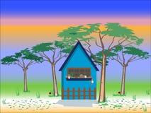 House background Stock Image