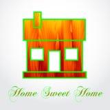House background illustration Royalty Free Stock Photos