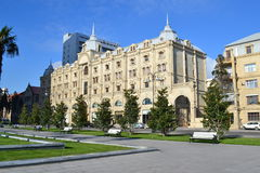 House in Baku. Beautiful House in Baku, Azerbaijan Royalty Free Stock Photography