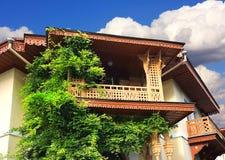 House with balcony Royalty Free Stock Photos