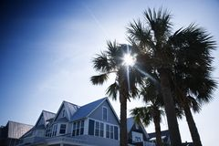 House on Bald Head Island. Stock Photography