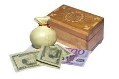 House bank. House storage of monetary saving Royalty Free Stock Photography